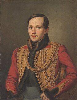 Lermontov in 1837