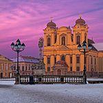 Timisoara - Catholic Dome in Union Square.jpg