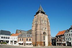 The church of St John the Baptist in Wavre