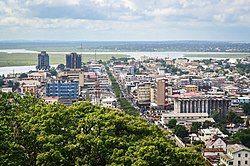 Monrovia skyline