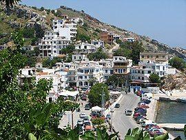 伊卡利亚岛的首府Agios Kirykos