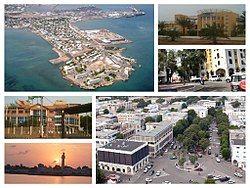 Collage of Djibouti