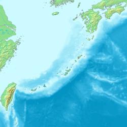 冲绳县在琉球群岛的位置