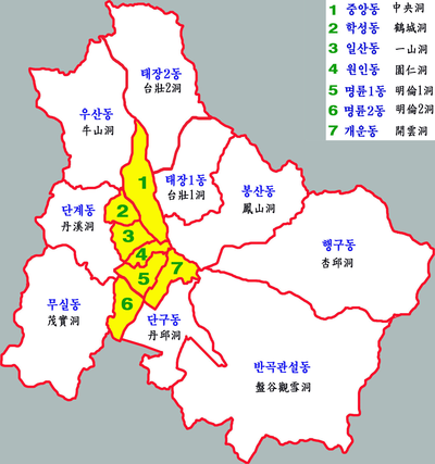 原州市东区地图