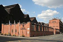 Photo of the Forgemasters steel works, Sheffield