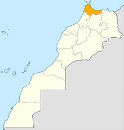 Location in Morocco
