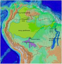 Cetacea range map Amazon River Dolphin.PNG