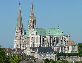 Chartres Cathedral in late-May 2010