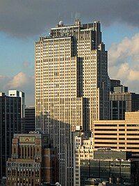 The GE Building at Rockefeller Center