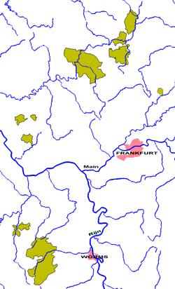 Nassau-Weilburg as in 1789