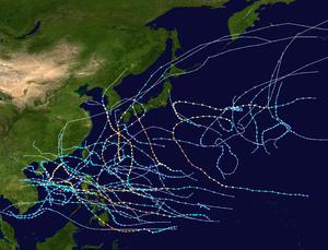 1970 Pacific typhoon season summary map.png