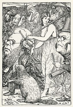 Lewis Carroll - Henry Holiday - Hunting of the Snark - Plate 6.jpg
