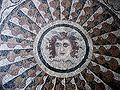Mosaic of Medusa from Kos, installed in the Palace of the Grand Master of the Knights of Rhodes.jpg