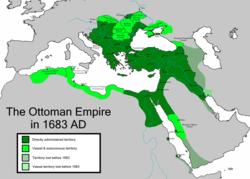 The Ottoman Empire in 1683
