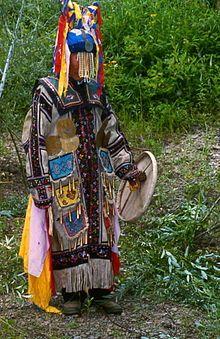 Chuonnasuan, the last shaman of the Oroqen, in July 1994 (Photo by Richard Noll).jpg