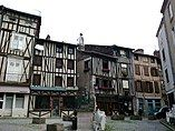 Haute-Vienne Limoges Rue De La Boucherie Place Saint-Aurelien 28052012 - panoramio.jpg