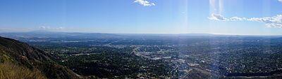 The San Gabriel valley.