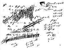From a notebook of Niels Henrik Abel