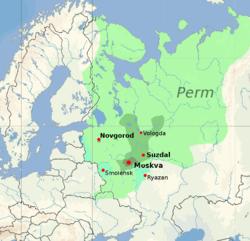 1390年至1530年间的领土变化