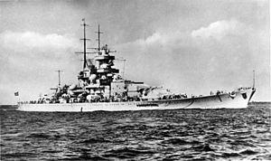 """Bundesarchiv DVM 10 Bild-23-63-01, Schlachtschiff """"Gneisenau"""".jpg"""