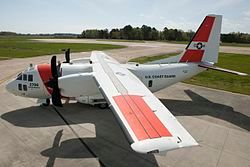 Coast Guard introduces new C-27J Medium Range Surveillance airplane (26168246275).jpg