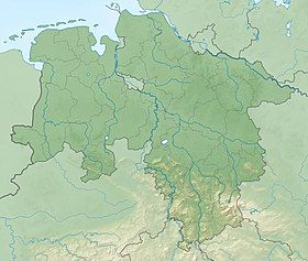 Thirty Years' War is located in Lower Saxony