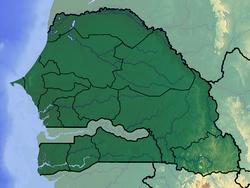 Dakar is located in Senegal