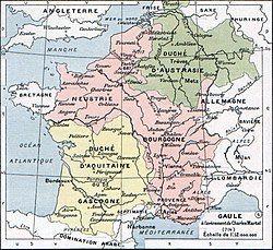 Location of Neustria
