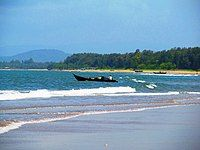 Heading for a new journey at Tagore Beach.JPG