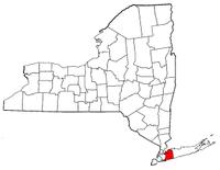 纽约州拿骚县地图