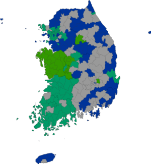Republic of Korea local election 1995 results map.png