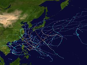 2007 Pacific typhoon season summary map.png