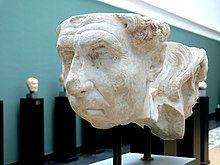 Double herm with the portrait of the Roman poets Virgil or Ennius