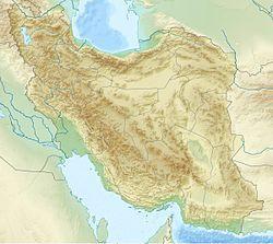 大不里士在伊朗的位置