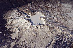 长白山火山口, 2003年4月