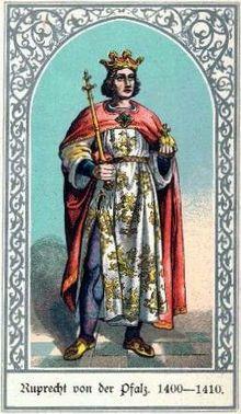 Die deutschen Kaiser Ruprecht von der Pfalz.jpg