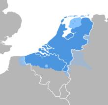 Dutch Language distribution map.png