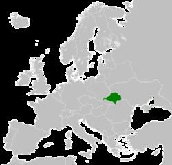 西乌克兰人民共和国领土