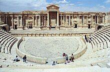 Well-preserved Roman amphitheater