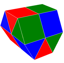Gyrated triangular prismatic honeycomb.png