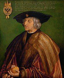 Albrecht Dürer - Portrait of Maximilian I - Google Art Project.jpg