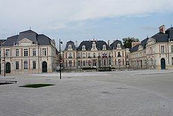 Prefecture building of the Vienne department, in Poitiers