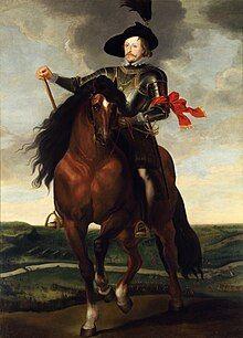 Władysław IV on Horseback, Rubens