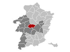 Zonhoven Limburg Belgium Map.png