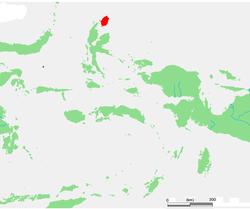 摩罗泰岛在马鲁古群岛的位置