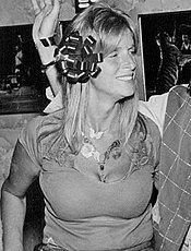 Linda McCartney in 1976