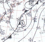 Typhoon June September 28, 1966 surface analysis.png
