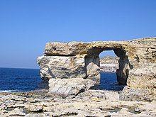 The Azure Window at Ras-id-Dwerja