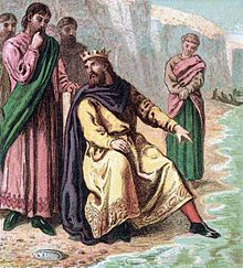 Pictures of English History Plate X - Canute and His Courtiers.jpg