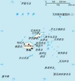 苏瓦在斐济的位置